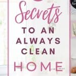 how to have a clean house, cleaning habits,how to clean