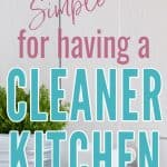 10 tips for a cleaner kitchen, white counter with bowl