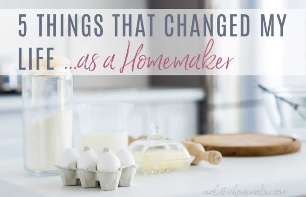 baking supplies on counter,how to keep up with home,how to be better homemaker