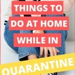 sitting jeans, things to do at home