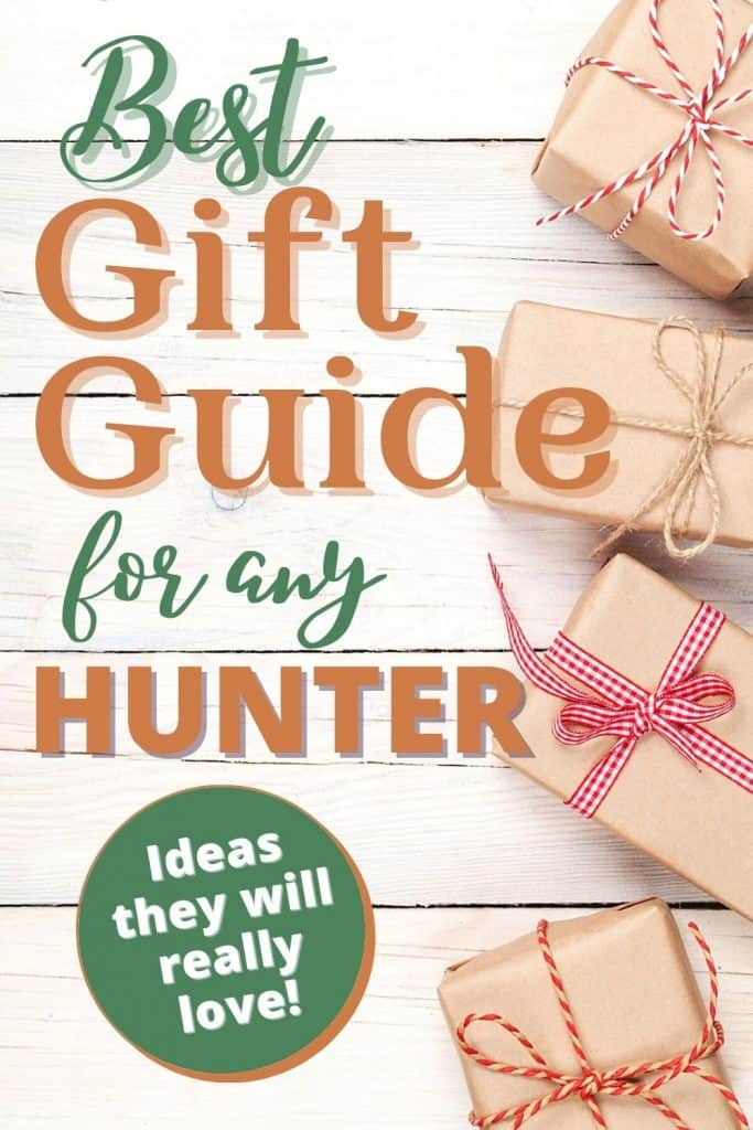 brown paper packages with red ribbon, gifts for hunters